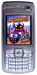 Rock'n'Roll - Game on mobile phone