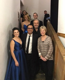 Varese Sarabande RSNO: Backstage after the Edinburgh Concert - photo courtesy of the RSNO