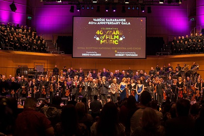 Varese Sarabande RSNO: the Final Bow in Glasgow - photo courtesy Diego Navarro