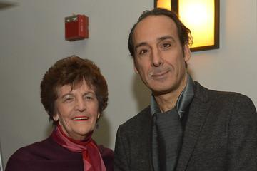 Alexandre Desplat with (the real) Philomena Lee