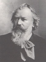 Johannes Brahms old photo