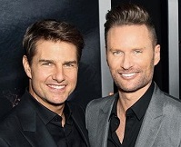 Brian Tyler and Tom Cruise