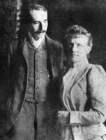 Edward Elgar with his wife Caroline Alice Edgar