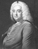 George Frideric Handel, engraving