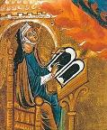 Hildegard von Bingen - from a self-portrait