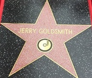 Jerry Goldsmith's star on the Hollywood Walk of Fame