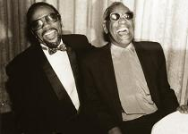 Quincy Jones and Ray Charles