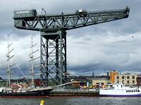 The Finnieston Crane in Glasgow - photo by Thomas Nugent (see Wikipedia for license details)