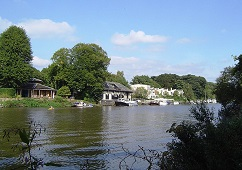 Eel Pie Island on the River Thames - photo courtesy Motmit