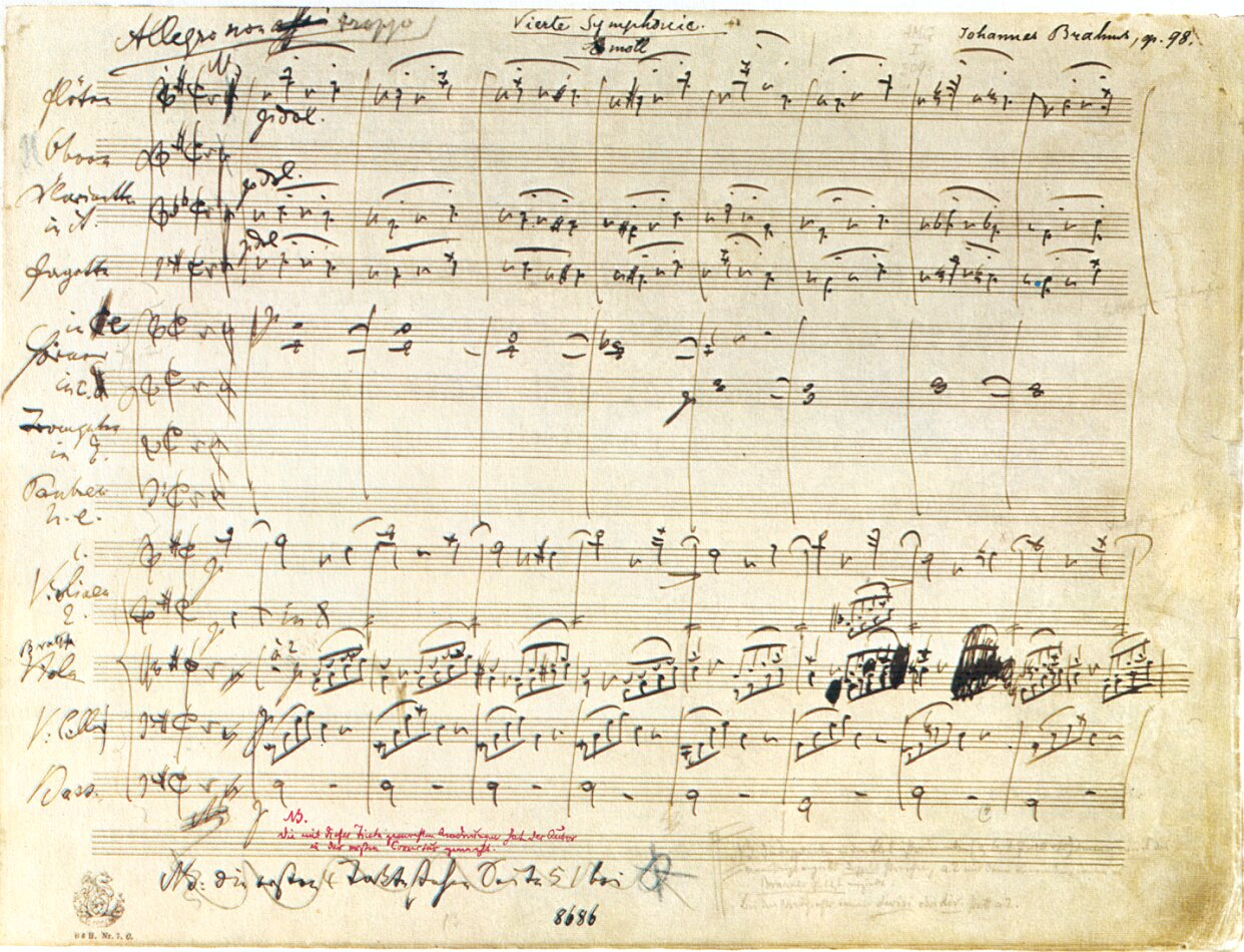 Manuscripts, Pens and Composers - an article by Jeffrey Dane