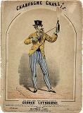 Champagne Charlie by George Leybourne and Alfred Lee - sheet music cover