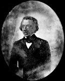 An 1847 Daguerreotype, one of the only two known photographic images of Chopin