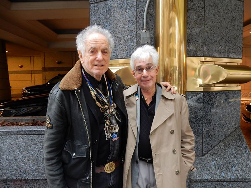 David Amram and Steve Vertlieb, image 1