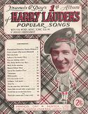 Harry Lauder's Popular Songs - sheet music cover