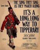 It's a Long Way to Tipperary by Jack Judge and Harry Williams - sheet music cover