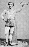 Jules Léotard, who inspired The Flying Trapeze song and invented leotards