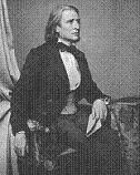 Franz Liszt in the 1850s
