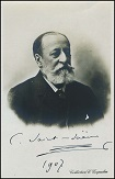 A 1907 photo, inscribed by the composer