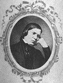 Robert Schumann, in a pensive mood