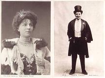 Vesta Tilley - 2 contrasting photos