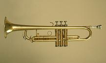 photo of a modern trumpet