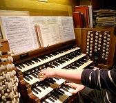 Organ Console at St. Patrick's Cathedral in Dublin