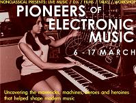 Pinoeers of Electronic Music - poster