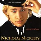 Rachel Portman: Nicholas Nickleby - film score album cover