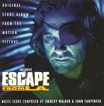 Shirley Walker and John Carpenter - Escape from L.A. soundtrack CD cover