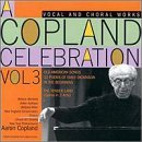 a Copland celebration volume 3 CD cover