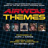 Airwolf Themes - soundtrack CD cover