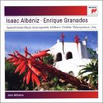 Albeniz & Granados: selected works played by John Williams (guitar) - CD cover