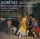Albeniz: Iberia & Piano Concerto, orchestral works with Aldo Ciccolini (piano) - CD cover