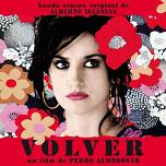 Alberto Iglesias - Volver soundtrack CD cover