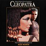 Alex North - Cleopatra soundtrack CD cover