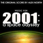 Alex North - 2001: A Space Odyssey - the original score, download album cover