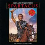 Alex North: Spartacus - soundtrack CD cover