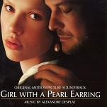 Alexandre Desplat - Girl with a Pearl Earring soundtrack CD cover