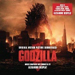 Alexandre Desplat: Godzilla - film score soundtrack album cover
