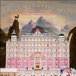 Alexandre Desplat: The Grand Budapest Hotel - soundtrack CD cover