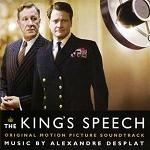 Alexandre Desplat: The King's Speech - soundtrack CD cover
