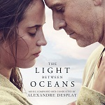 Alexandre Desplat: The Light Between Oceans - film score album cover