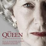 Alexandre Desplat - The Queen soundtrack CD cover