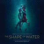 Alexandre Desplat: The Shape of Water - film score album cover