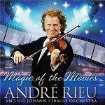 Andre Rieu: Magic of the Movies - double-album CD cover