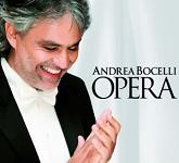 Andrea Bocelli: Opera - album CD cover