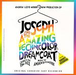 Andrew Lloyd Webber - Joseph and the Amazing Technicolor Dreamcoat original stage cast CD cover