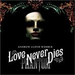 Andrew Lloyd Webber - Love Never Dies soundtrack CD cover