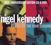 Antonio Vivaldi - Four Seasons with Nigel Kennedy, 20th anniversary edition cover