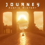 Austin Wintory - Journey video game soundtrack CD cover